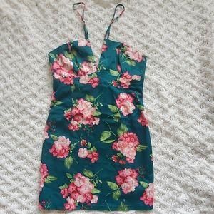 Tropical Hawaiian dress